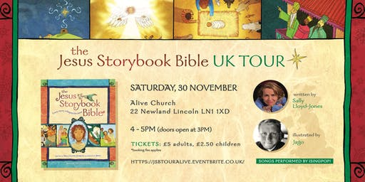 The Jesus Storybook Bible Advent UK Tour