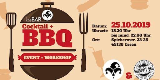 Cocktail und BBQ Event + Workshop
