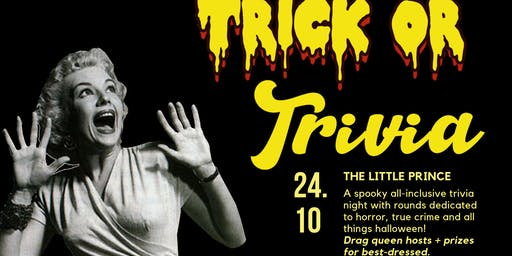 ★ Trick or Trivia ★ The Little Prince ★ October 24th