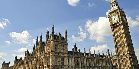Tour of Houses of Parliament tickets