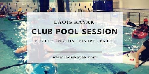 Pool Session Portarlington 26th