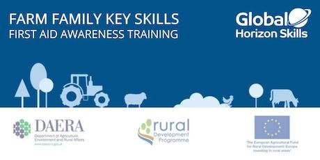 FREE Farm Family Key Skills First Aid Awareness tickets