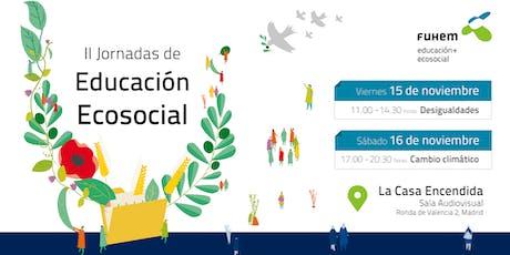 II Jornadas de Educación Ecosocial entradas