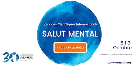 Jornades ARAPDIS: 30 anys lluitant contra l'estigma de la Salut Mental entradas
