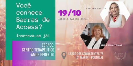 Classe de Barras de Access - Fabiana Shyton e Ana Paula Tomás tickets