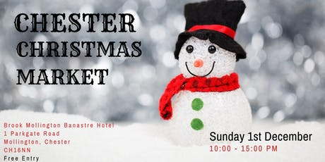 Chester Indoor Christmas Market at The Mollington Banastre tickets