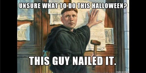 Reformation Open House & Costume Party