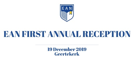 EAN First Annual Reception (2019) tickets