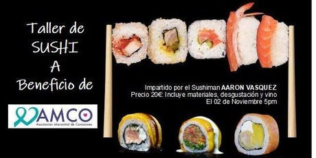 Taller de sushi entradas