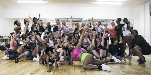 Afrobeats vs Dancehall Twerk After Work Dublin Class with Bam Bam Boogie!