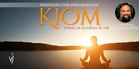 Kiom - Meditação com Sons Sagrados ingressos