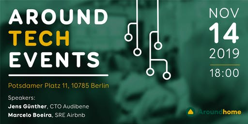 Aroundtech Events #1 - Tech Meetup & Talks