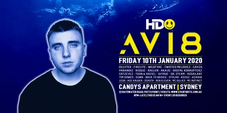 HDO presents AVI8 tickets