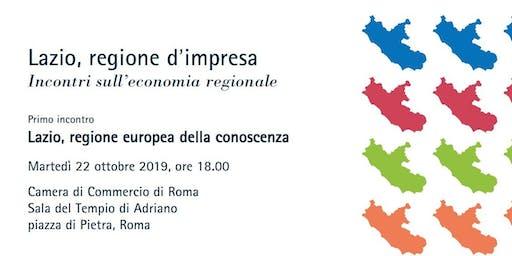 Lazio, regione europea della conoscenza