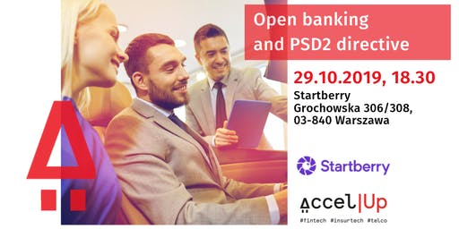 AccelUp Evening: Open banking and PSD2 directive