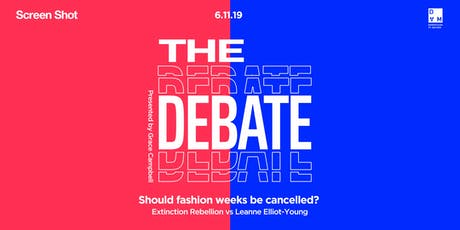 The Debate: Should fashion weeks be cancelled? tickets