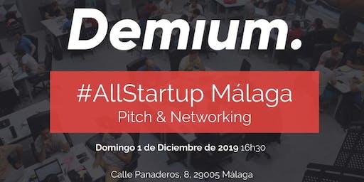 Pitch & Network #AllStartup Málaga