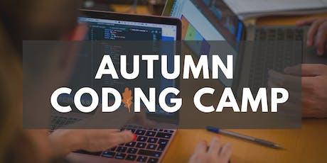 Autumn Coding Camp tickets