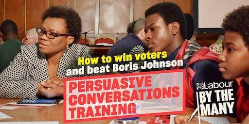 Persuasive Conversations Training