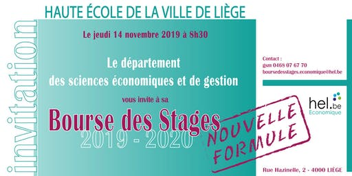 BOURSE DES STAGES