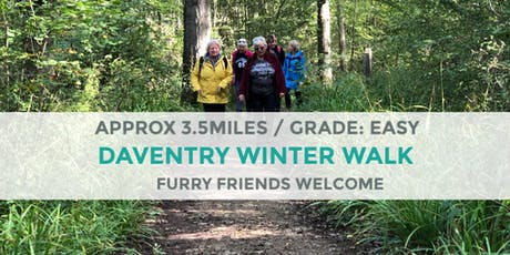 DAVENTRY WINTER WALK | 3.5 MILES | EASY | NORTHANTS tickets