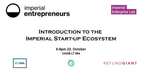 Introduction to the Imperial Startup Ecosystem tickets