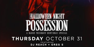 Possession at Rockwell Halloween 10/31*