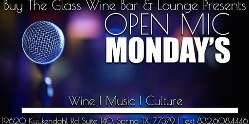 Open Mic Monday's  | Music, Poetry & Wine