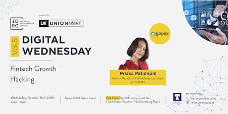 Digital Wednesday Vol.5: Fintech Growth Hacking tickets
