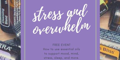 Essential Oils for Stress and Overwhelm