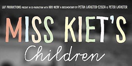 Filmdebat/ Ciné-débat: De kinderen van juf Kiet./ Les élèves de Madame Kiet billets