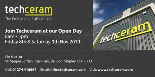 Techceram Open Day VIP INVITATION
