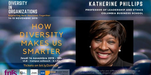 How Diversity Makes Us Smarter -Conference by Katherine Phillips
