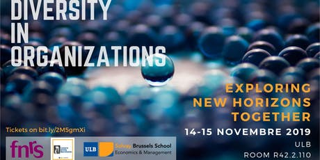 Diversity in Organizations - Exploring New Horizons Together tickets