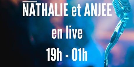 Nathalie et Anjee en live billets