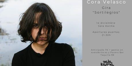 "Cora Velasco presenta ""Sortilegios"" en la Sala Karma entradas"
