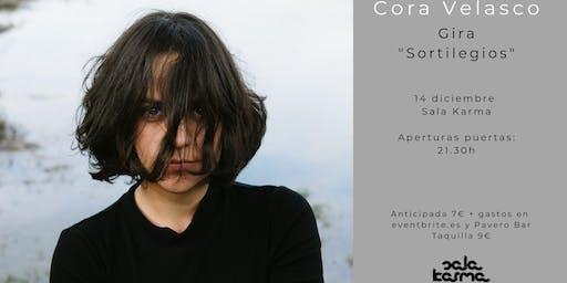 """Cora Velasco presenta """"Sortilegios"""" en la Sala Karma"""