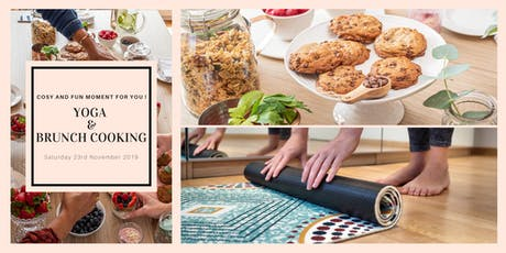 Yoga & Brunch Cooking tickets