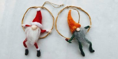 Needle Felt Elf Making