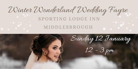 Winter Wonderland Wedding Fayre at Sporting Lodge Inn, Middlesbrough tickets