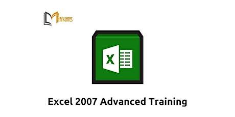 Excel 2007 Advanced 1 Day Virtual Live Training in Riyadh tickets
