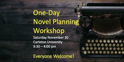 One-Day Novel Planning Workshop