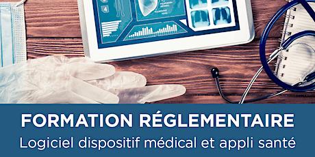 FORMATION - Logiciel sous statut DM et applications pour la santé billets
