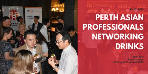 Perth Asian Professionals Networking Drinks