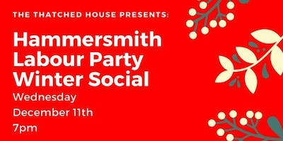 Hammersmith Labour Party Winter Social