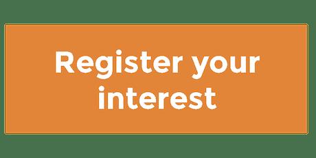 Register your interest - Robotics and Autonomous Systems tickets