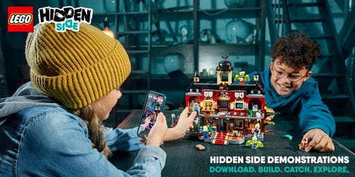 LEGO Hidden Side at Smyths Toys Staples Corner