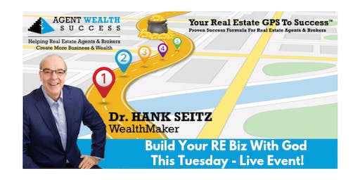 Build Your RE Biz With God - This Tuesday - Live Event!