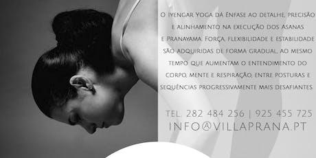 Intensivo de Iyengar Yoga bilhetes