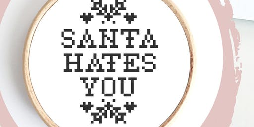 Christmas Stitch-Up with Innocent Bones